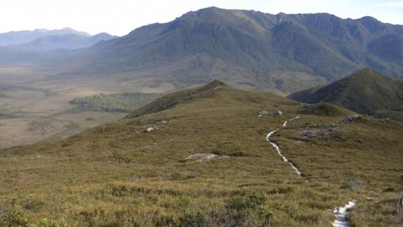 The Ironbound Range in the distance..